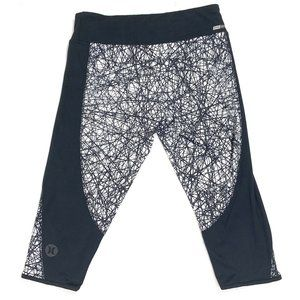 Nike DRI-FIT Hurley Collaboration Capri Leggings S